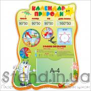 Стенд Календар природи (21126)