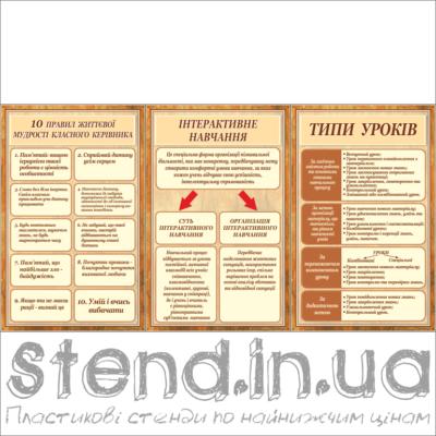 Стенд для методичних кабінетів (271307)