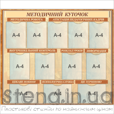 Стенд Методичний куточок (271311)