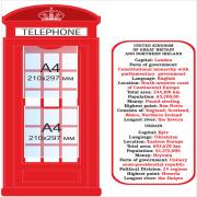 Стенд для кабінету англійської мови (270306.42)