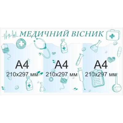 Стенд Медичний вісник (20860)