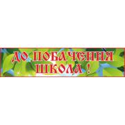 Банер До побачення школа! (271102.4)