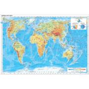 Стенд Фізична карта світу (270302.14)