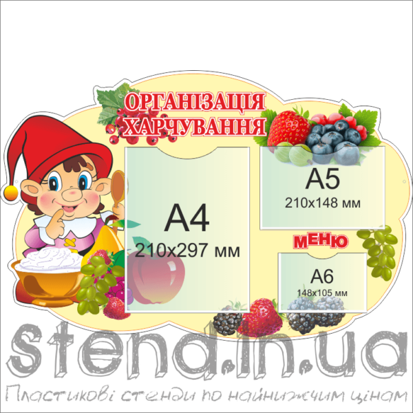 Стенд Організація харчування (20141.1)