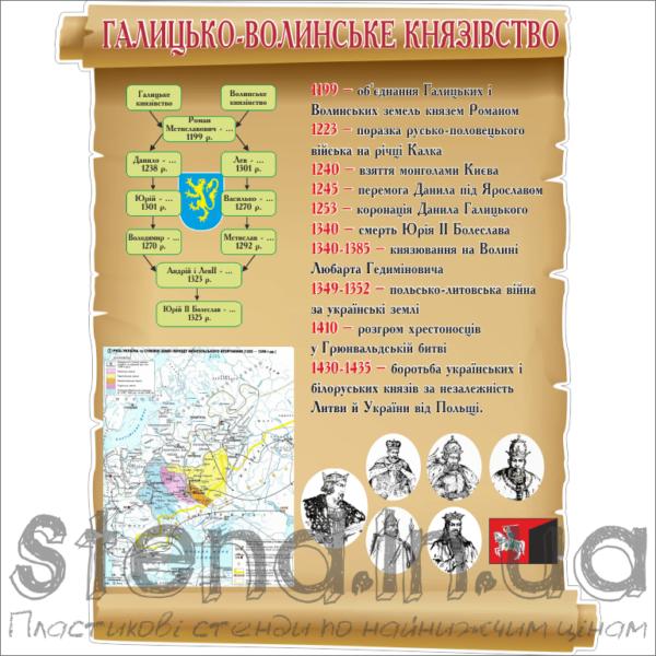 Стенд Галицько-Волинське князівство (270309.4)