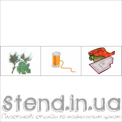 """Набір з 3-х зображень для розміщення на стенді """"Екологічний ланцюжок у побуті (22323)"""" (22326.1)"""