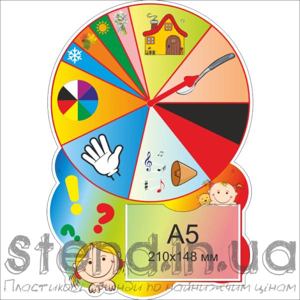 Стенд Універсальний для роботи з дітьми з полями (22330)