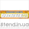 Стенд Пишемо цифри (23111)