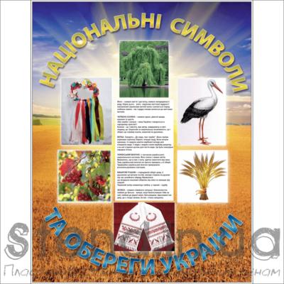 Стенд Національні символи та обереги України (270631)