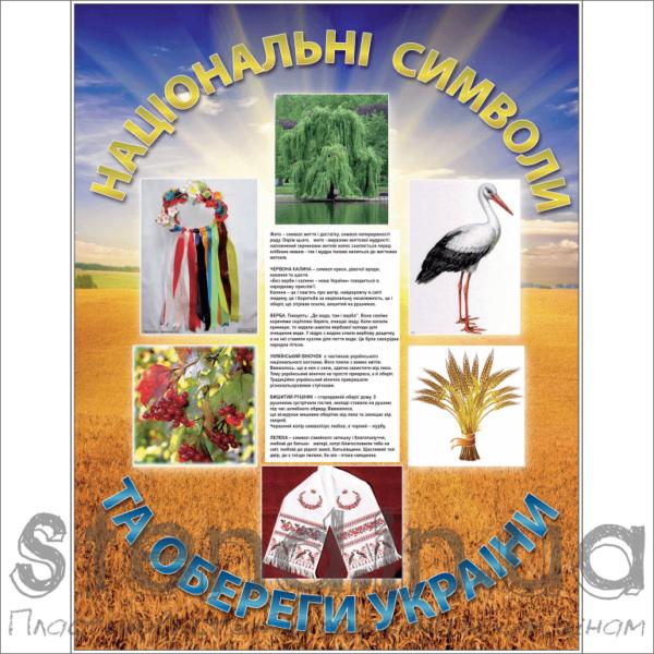 Стенд Національні символи та обереги Україна (270631)
