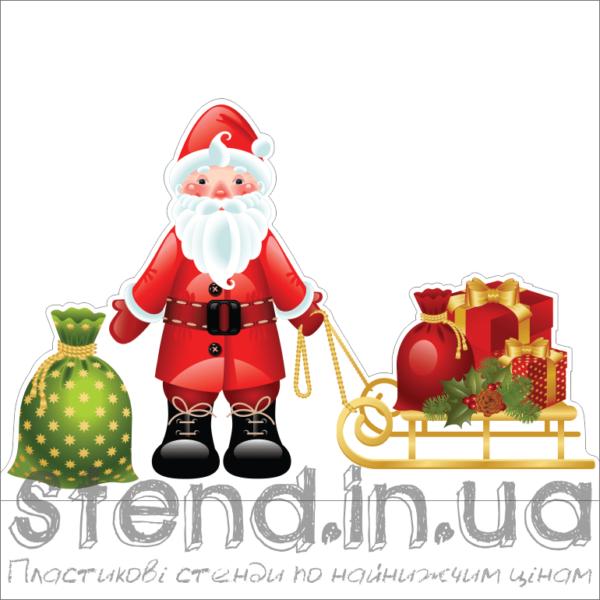 Декорація до Нового Року на підставці Санта Клаус (2510)