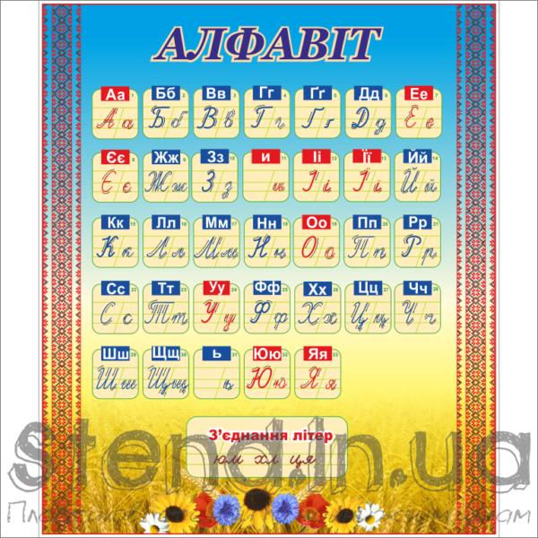 Стенд Алфавіт (23134)