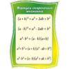 Стенд Формули скороченого множення (270310.27)