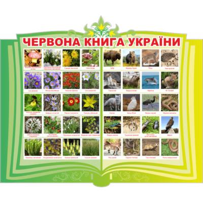 Стенд Червона книга України (270314.11)