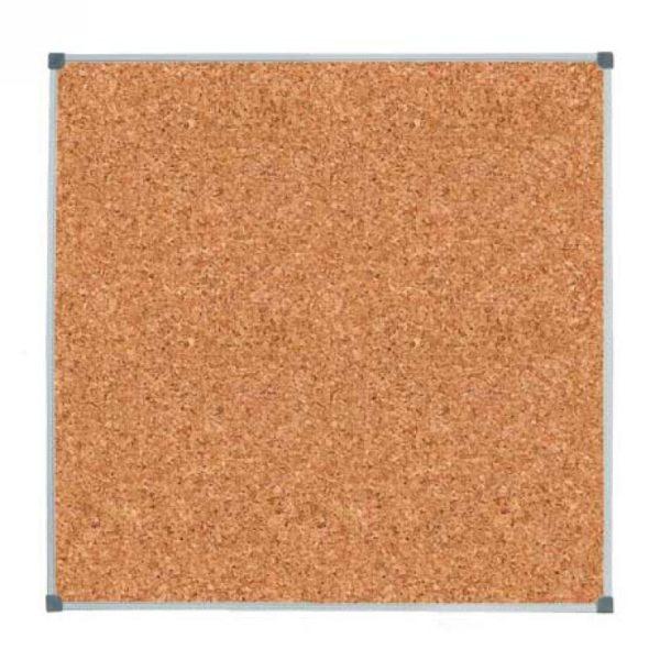 Коркова (пробкова) дошка в алюмінієвій рамці 100х100 см (270845.3)