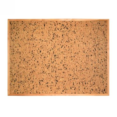 Коркова (пробкова) дошка в дерев'яній рамці 100х70 см (270845.6)