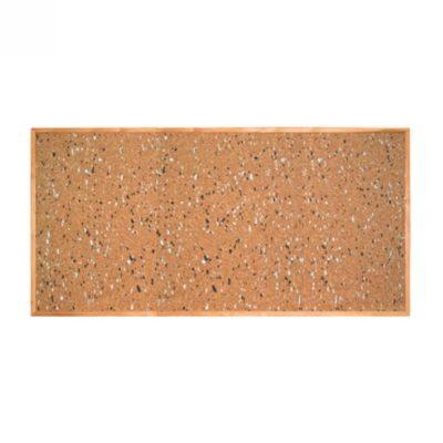 Коркова (пробкова) дошка в дерев'яній рамці 200х100 см (270845.9)