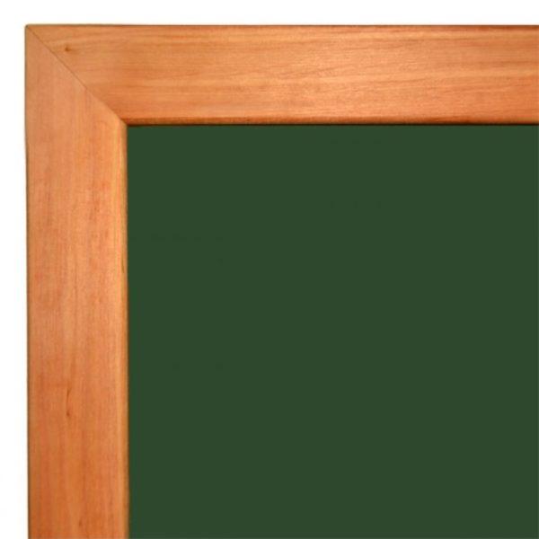 Дошка крейдяна магнітна в дерев'яній рамці