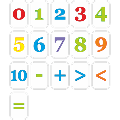 Роздатковий матеріал Цифри (23142)