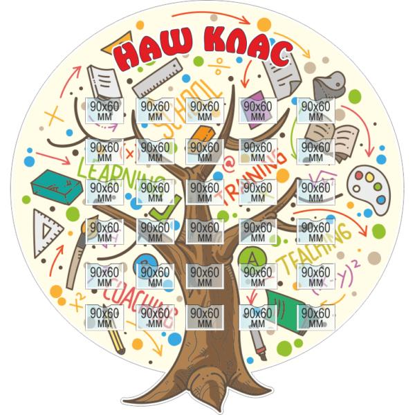 Стенд Наш Клас (270279)