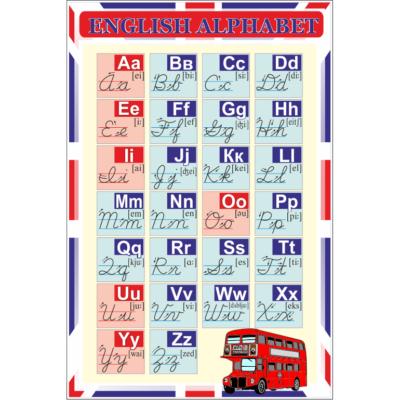 Стенд English alphabet (270306.29)