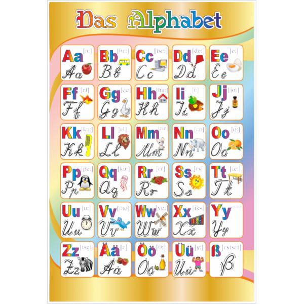Стенд Das Alphabet (270306.31)