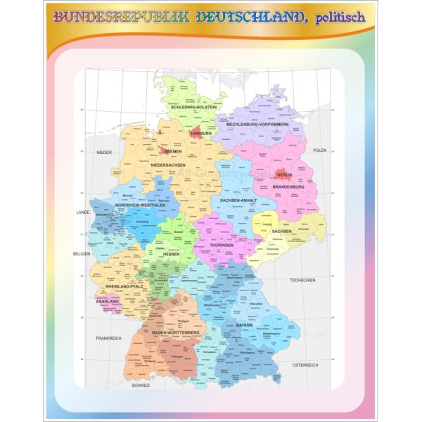 Стенд Bundesrepublik Deutschland, politisch (270306.35)
