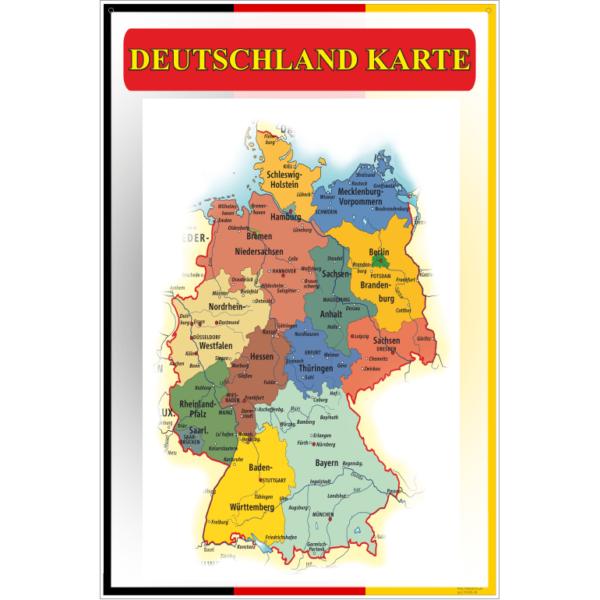 Стенд Deutschland karte (270306.48)
