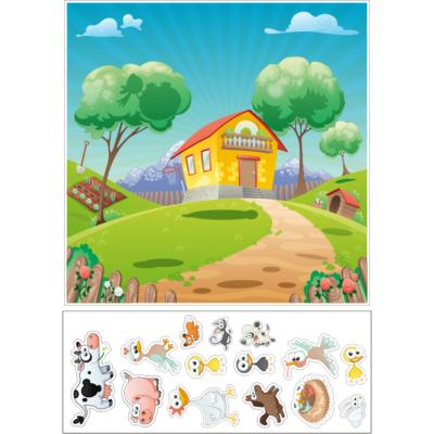 Стенд магнітний Свійські тварини (271803)