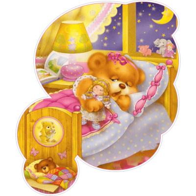 Настінна декорація Ведмедик в ліжечку (2530.4)
