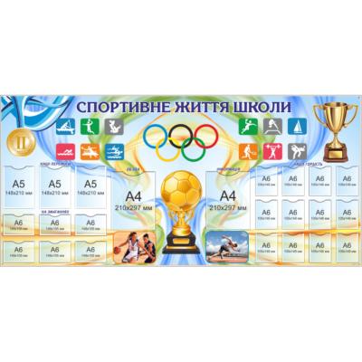Стенд Спортивне життя школи (270322.17)