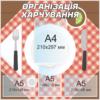 Стенд Організація харчування (271210)