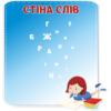 Стенд для НУШ магнітний Стіна слів (271568)