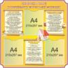 Стенд Охорона праці у дошкільних навчальних закладах (270401.5)