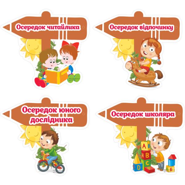 Стенд для НУШ Осередки (271514)