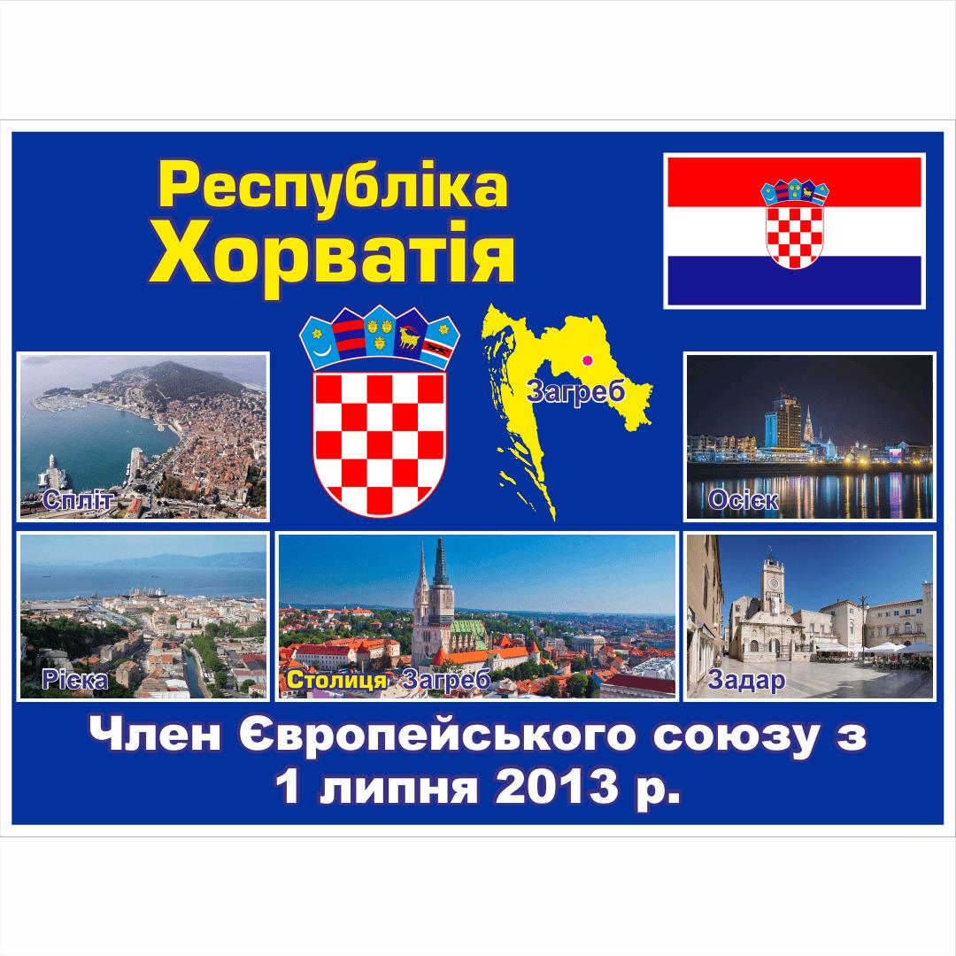 Стенд ЄС: Республіка Хорватія (2714190.19)