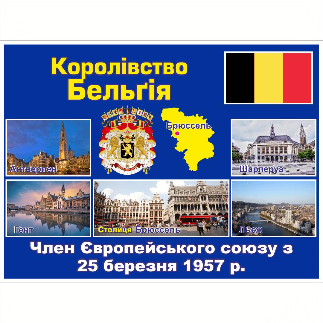 Стенд ЄС: Королівство Бельгія (2714190.22)