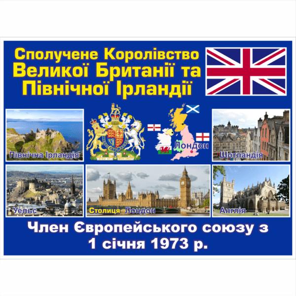 Стенд ЄС: Сполучене Королівство Великої Британії та Північної Ірландії (2714190.4)